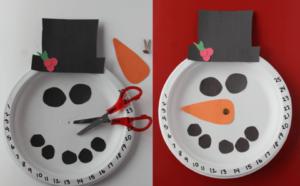 Handmade Snowman Christmas Countdown